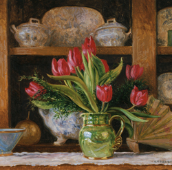 Tulips on the Dresser