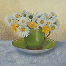 'Flower Paintings by Rebecca' series of New Paintings