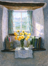 Daffodils in the Inglenook